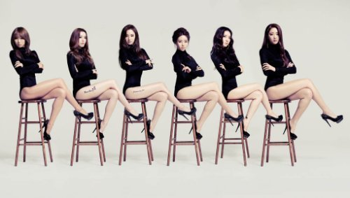 2月,韩国新女子组合dal shabet为时尚杂志《pink wings》拍摄了一组