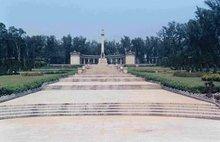 (图)盘山烈士陵园