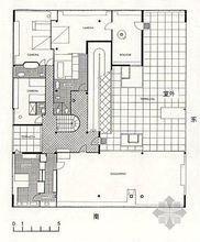 萨伏伊符号大全别墅化工的图纸图片