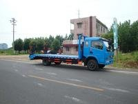 平板运输车与机械运输车