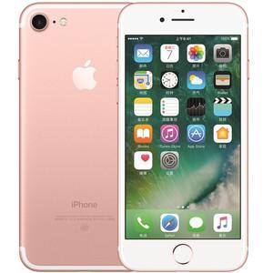 苹果【iPhone 7】全网通 玫瑰金 128G 国行 7成新 真机实拍