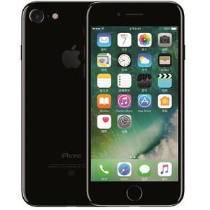 苹果【iPhone 7】全网通 亮黑色 128G 国行 9成新