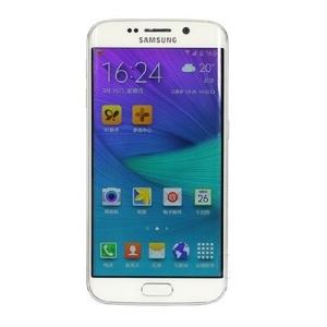 三星【Galaxy S6 Edge】全网通 白色 64G 国行 7成新 真机实拍