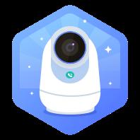 360 智能摄像机云台5P触联2K版