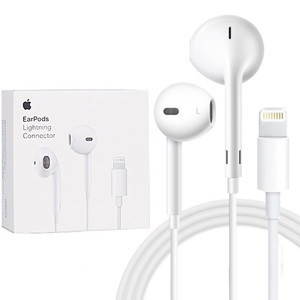 苹果【苹果耳机(Lightning 接口)】全新  白色耳机适用于7/7P/8/8P/X/XS/XSmax