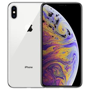 苹果【iPhone Xs Max】64G 99成新  全网通 国行 银色国行靓机顺丰包邮