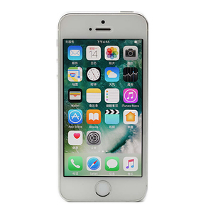 苹果【iPhone SE】银色 全网通 16 G 国行 9成新