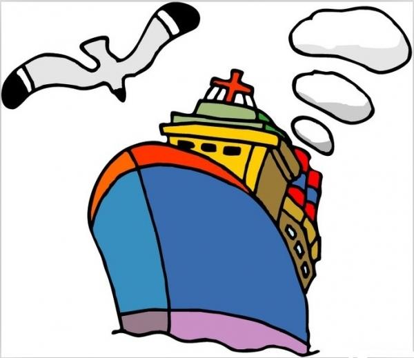 船绘画步骤图