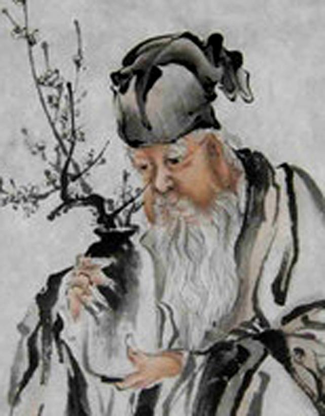 人物局部-艺术大师谈瑞明作品