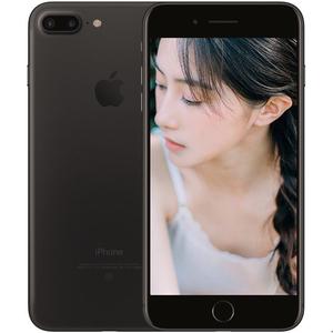 苹果【iPhone 7 Plus】全网通 黑色 128G 国行 8成新