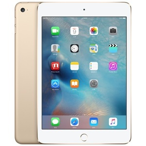 苹果【iPad mini4】WIFI版 金色 128G 国行 8成新 真机实拍