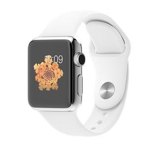 苹果【iWatch】白色 国行 WIFI版 8 G 9成新