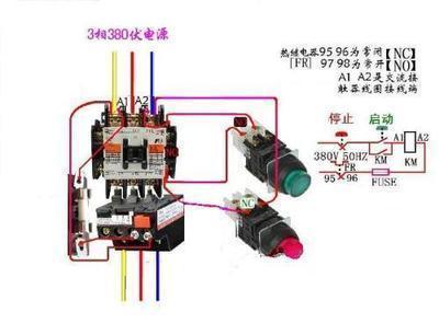 二次线路电动机接线图图片