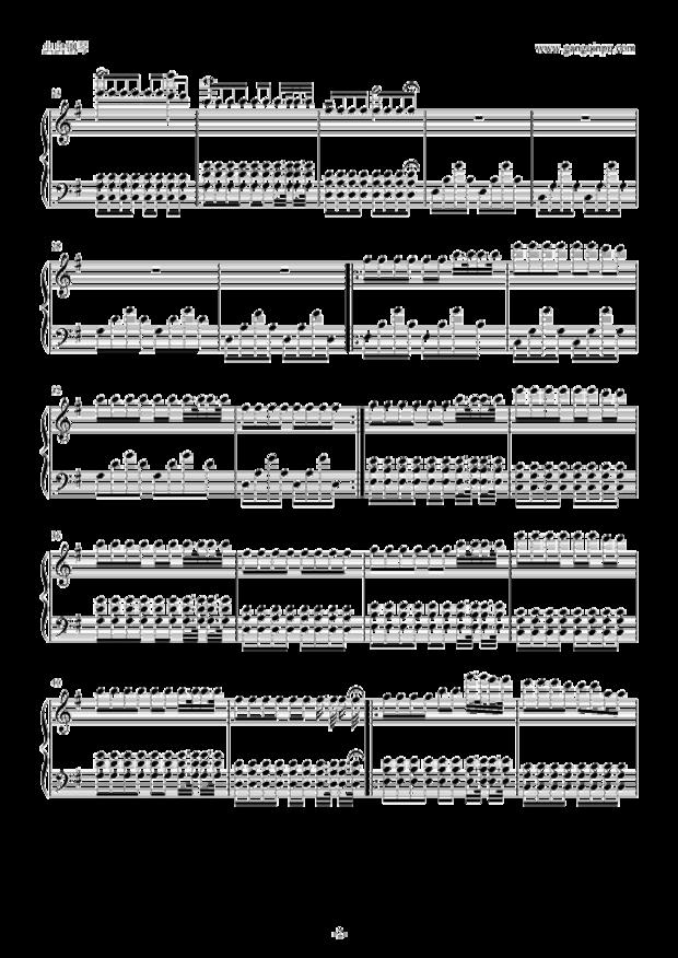 匿名网友LV2016-11-27钢琴谱:http://www.gangqinpu.com/html/27960.htm简谱:http://www.docin.com/p-786339825.html追问:五线谱只有第一面,要完整的 求faded钢琴五线谱_百度图片求faded钢琴五线谱_百度图片faded钢琴谱五线谱_faded歌词歌谱_学习啦2017年6月3日 - 《Faded》是根据AlanWalker的纯电音《Fade》的女声版,由lselinSolheim演唱,收录于2015年11月25日发行的同