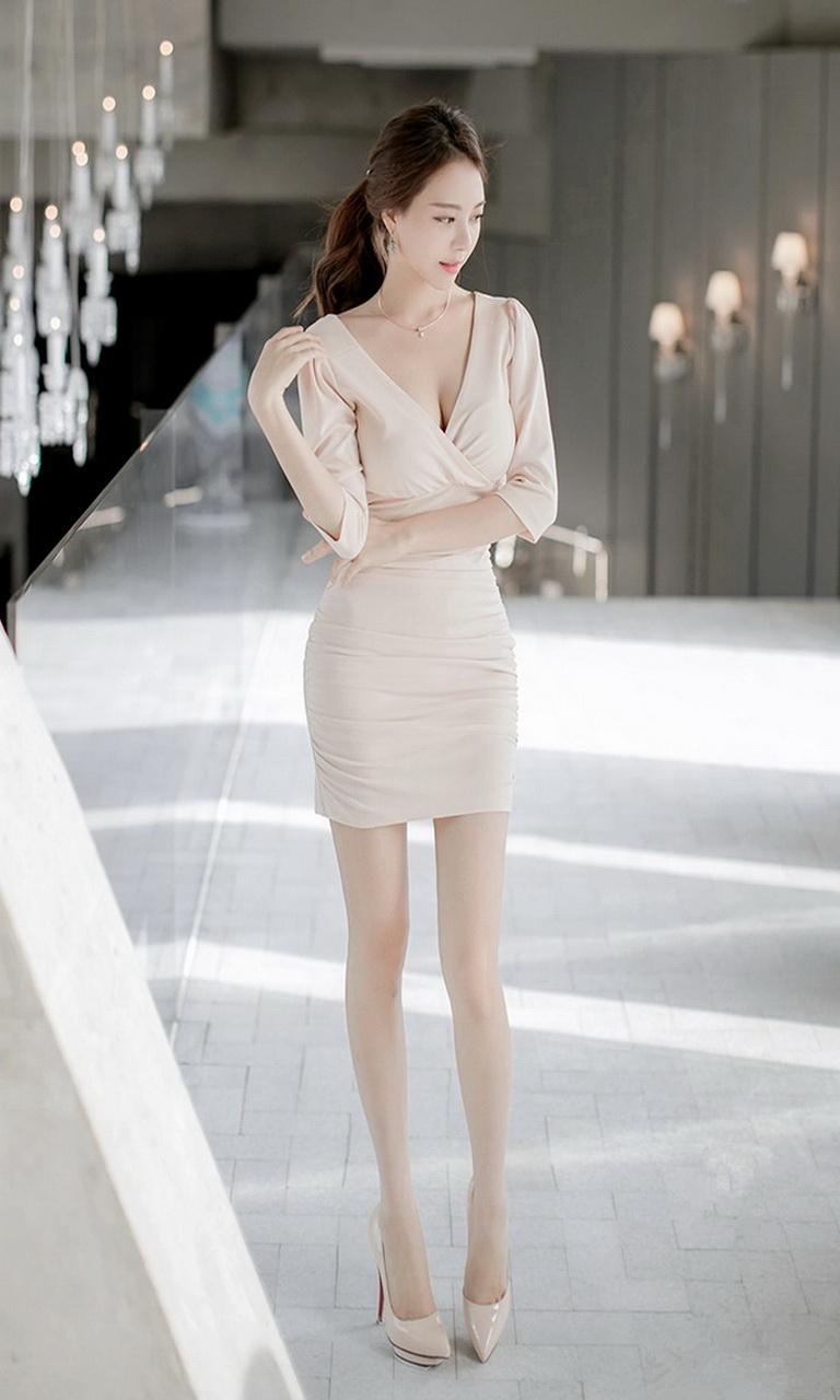 韩国职业ol美女手机壁纸