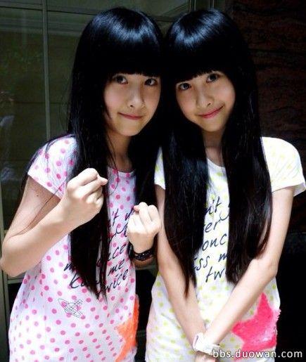 台湾双胞胎小萝莉