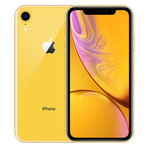 苹果【iPhone XR】全网通 黄色 64G 国行 95成新
