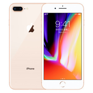 苹果【iPhone 8 Plus】全网通 金色 64G 国行 8成新 真机实拍