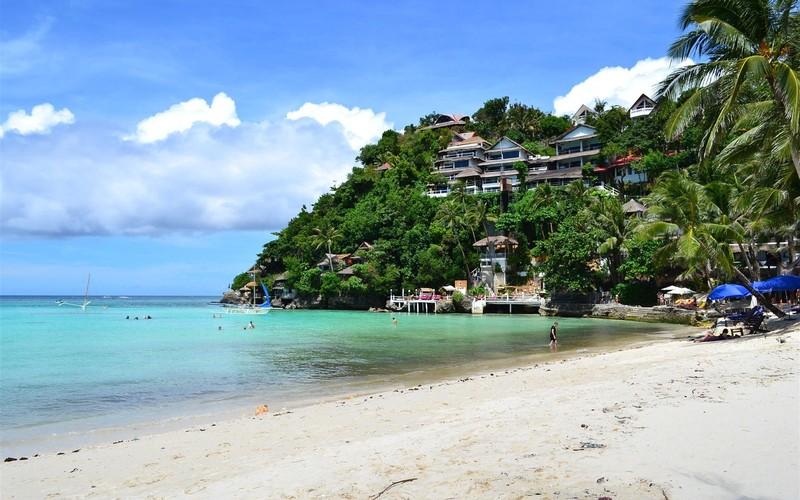 菲律宾阳光沙滩海边壁纸