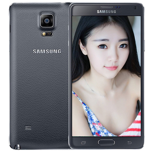 三星【Galaxy Note 4】电信 4G/3G/2G 黑色 16 G 国行 9成新