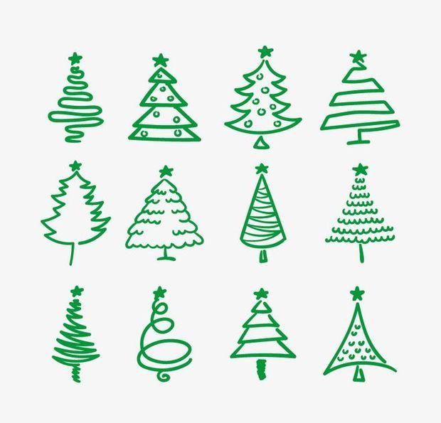 如何画树简笔画的步骤