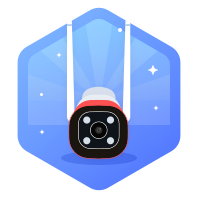 360 智能摄像机红色警戒标准版 AW2L