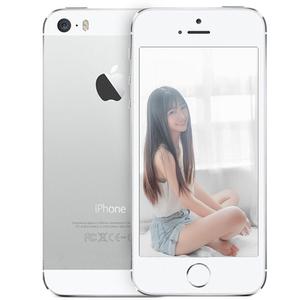 苹果【iPhone 5S】16 G 银色 国行 移动联通 4G/3G/2G 95成新 热卖靓机4.0英寸小屏高性价比