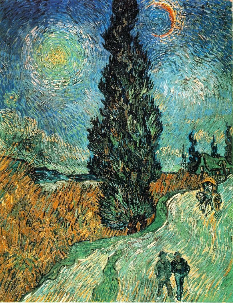 梵高的作品目前主要收纳在法国的奥赛美术馆,以及苏黎世的kunshaus