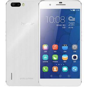 华为【荣耀6 plus】移动 4G/3G/2G 白色 16 G 国行 8成新