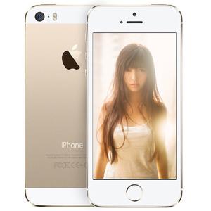 苹果【iPhone 5S】电信 3G/2G 金色 16 G 国行 9成新
