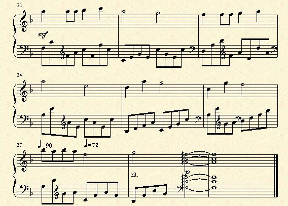 古典吉他二重奏谱子-没有什么不同双手简谱