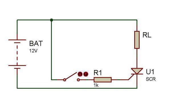10a单向可控硅需要多少电压才能导通,如何去