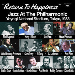 return to happiness: jazz at the philharmonic, yoyogi national stadium, tokyo, 1983