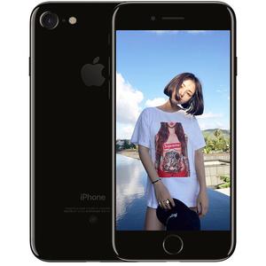 苹果【iPhone 7】亮黑色 全网通 128G 国行 8成新 真机实拍