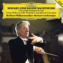 mozart: eine kleine nachtmusik / grieg: holberg suite / prokofiev: symphonie classique