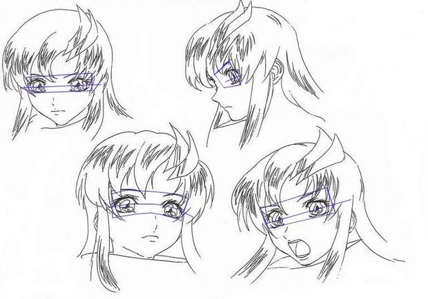 怎样绘画动漫人物的眼睛