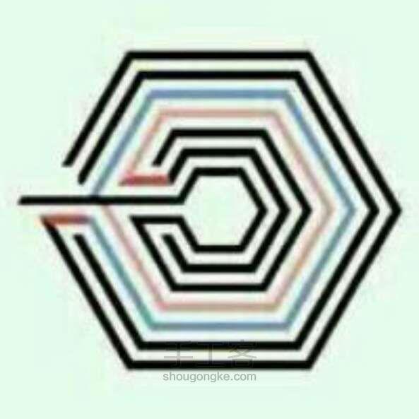 exo的上瘾标志是怎么画的图片