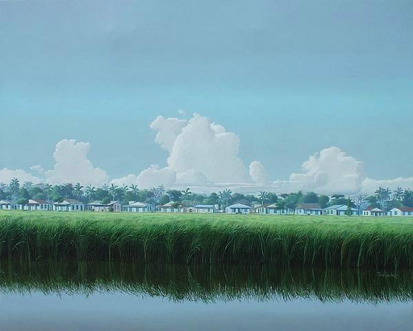 古巴画家-托马.桑切斯的风景画