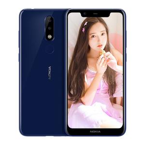 诺基亚【X5】全网通 蓝色 3G/32G 国行 9成新 真机实拍带原装充电器、数据线