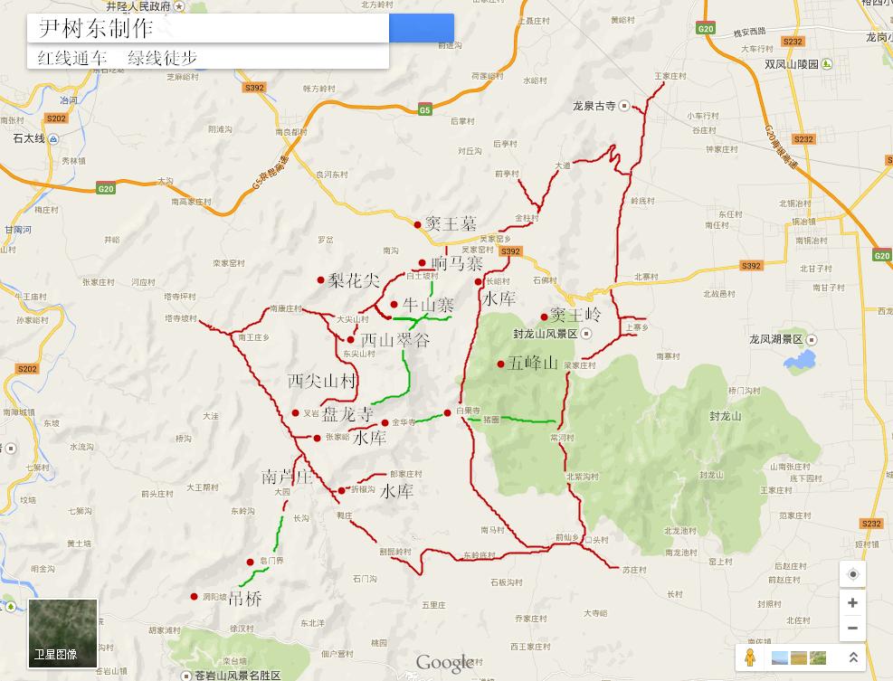 黄山旅游路线图