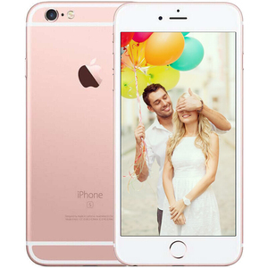 苹果【iPhone 6S】移动 4G/3G/2G 玫瑰金 16 G 国行 95成新