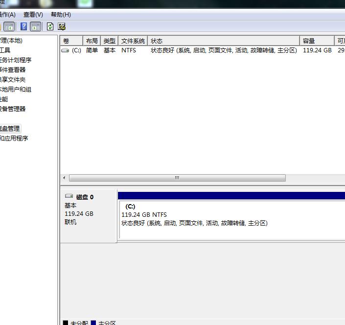 D.E.F盘丢失,只有单独的固态硬盘C盘还在,D.E.F.盘是机械硬盘分的区,都没了