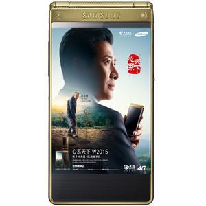 三星【W2015】电信 4G/3G/2G 金色 16 G 国行 7成新