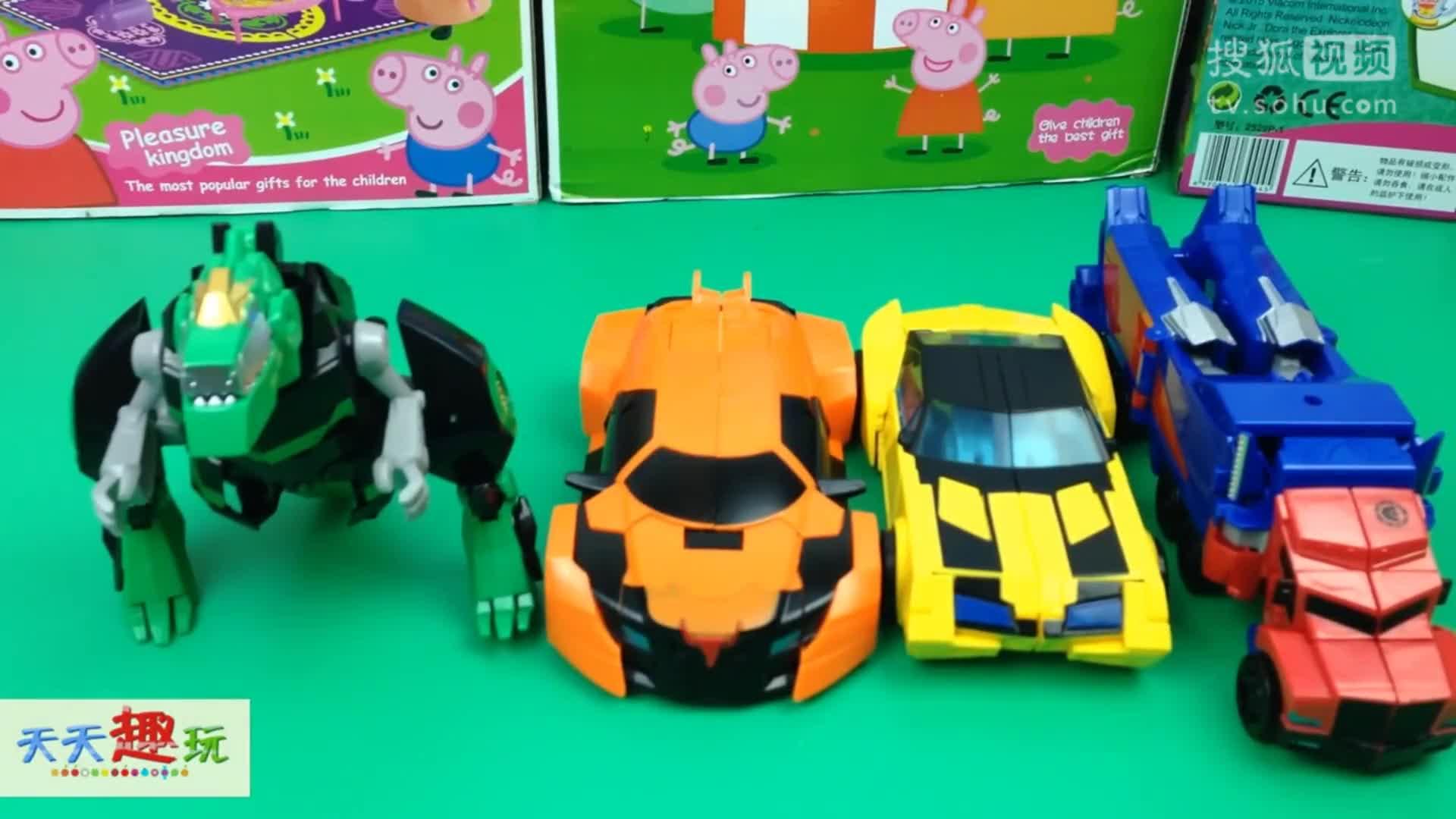 变形金刚路霸人玩具 变形金刚片电影系列玩具变形人.
