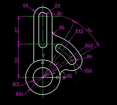 AutoCAD审查测试题,求高手帮忙!v高手等,!_36上机管理体系质量图纸图片