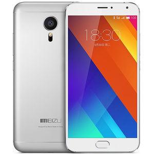 魅族【MX5】移动 4G/3G/2G 银色 32 G 国行 9成新