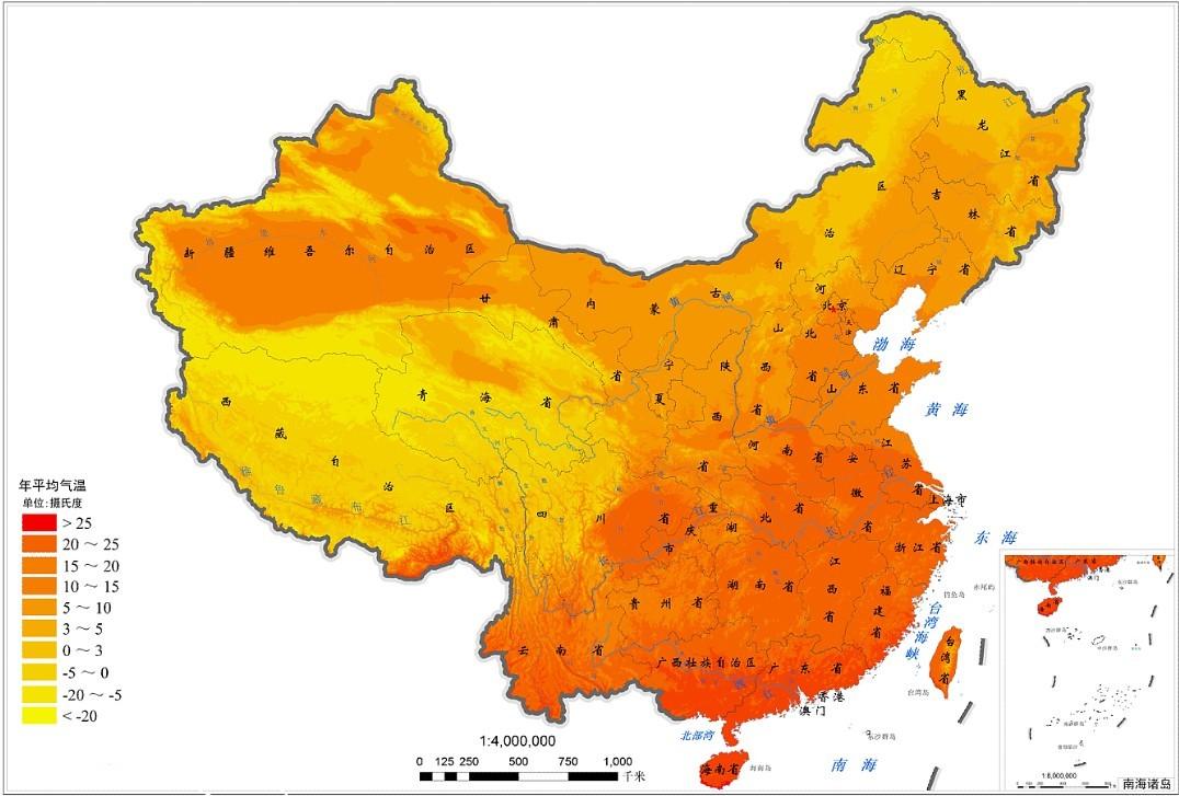 中国地图青岛天气