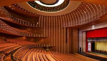 剧场或其他建筑物的这种设计,当初可能只求解决视线问题,但无意中却取