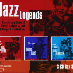 jazz legends - songs of cole porter/rodgers & hart/gershwin