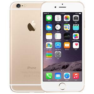 苹果【iPhone 6 Plus】移动联通 4G/3G/2G 金色 16G 港澳台 9成新